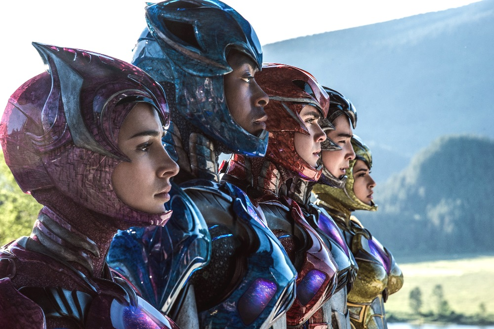 still of power rangers actors in power rangers movie