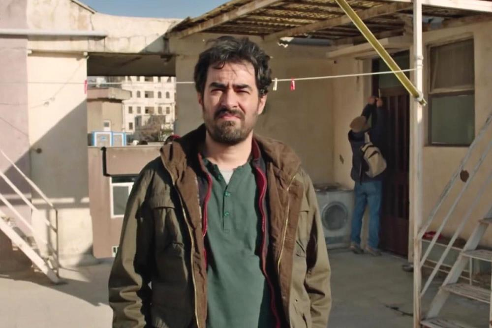 image of Shahab Hosseini as Emad in The salesman movie