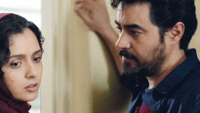 image of Shahab Hosseini as Emad and Taraneh Alidoosti as Rana in the salesman movie
