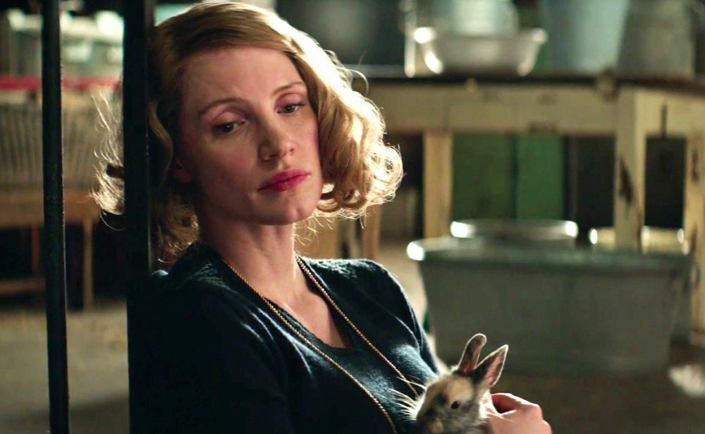 Jessica Chastain as Antonina in The Zookeeper's Wife Movie