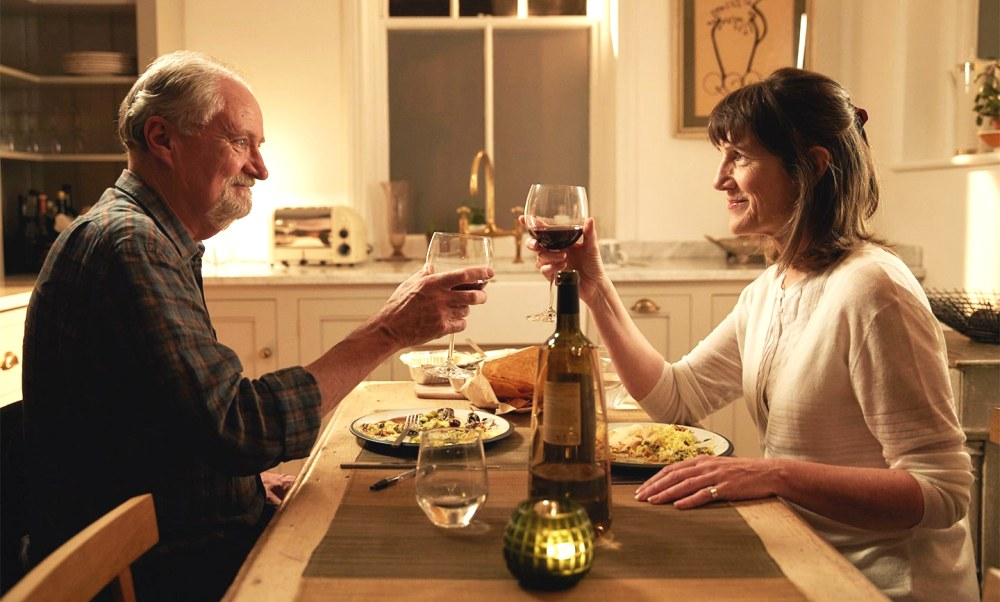 the sense of an ending Jim Broadbent and Harriet Walter