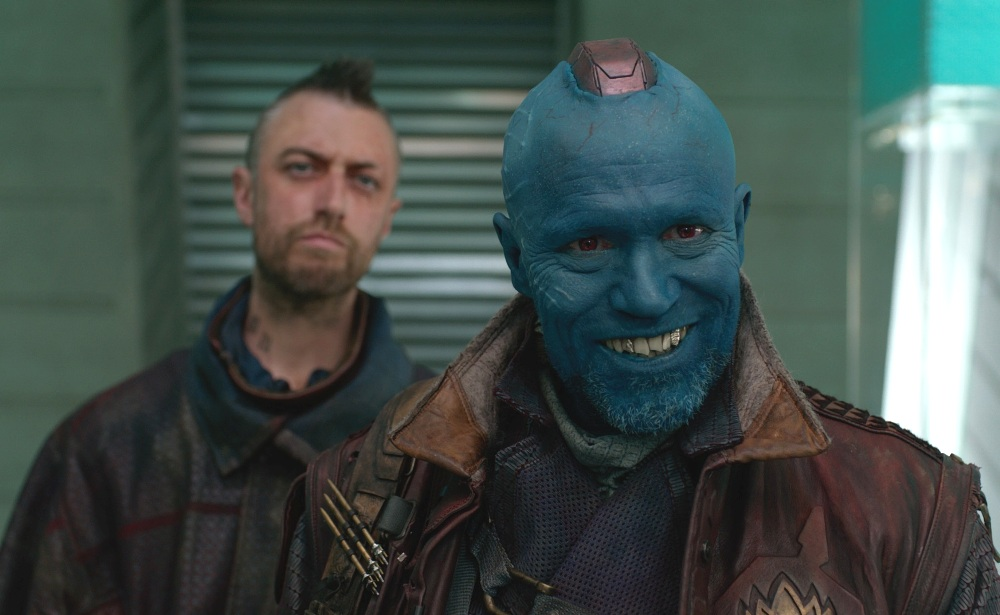 image of yondu with kraglin in Guardians of the Galaxy vol 2