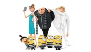 Despicable Me 3 movie wallpaper