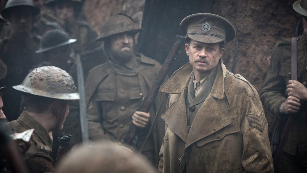 still of Charlie Hunnam as Percy Fawcett in The Lost City of Z movie