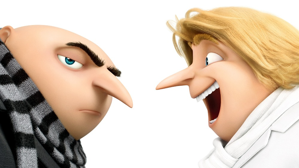 gru and dru in despicable me 3 movie