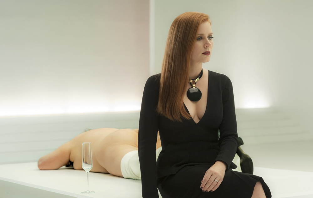 still from Nocturnal Animals of Amy Adams junk culture