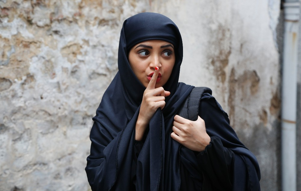 still of Plabita Borthakur as Rehana in Lipstick Under My Burkha