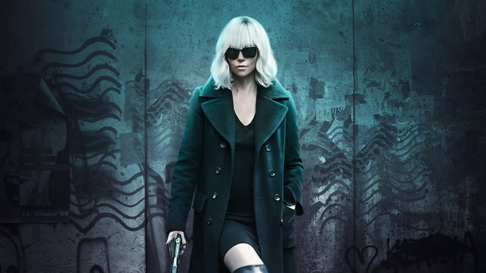 Atomic Blonde movie wallpaper