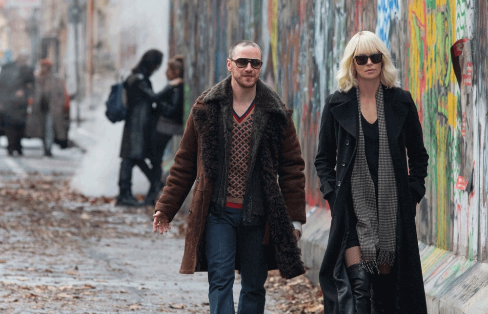 movie scene from atomic blonde