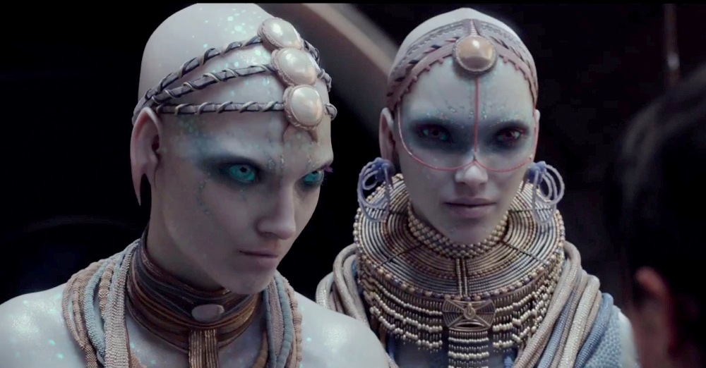 still of Mul Humanoids from Valerian and the City of a Thousand Planets