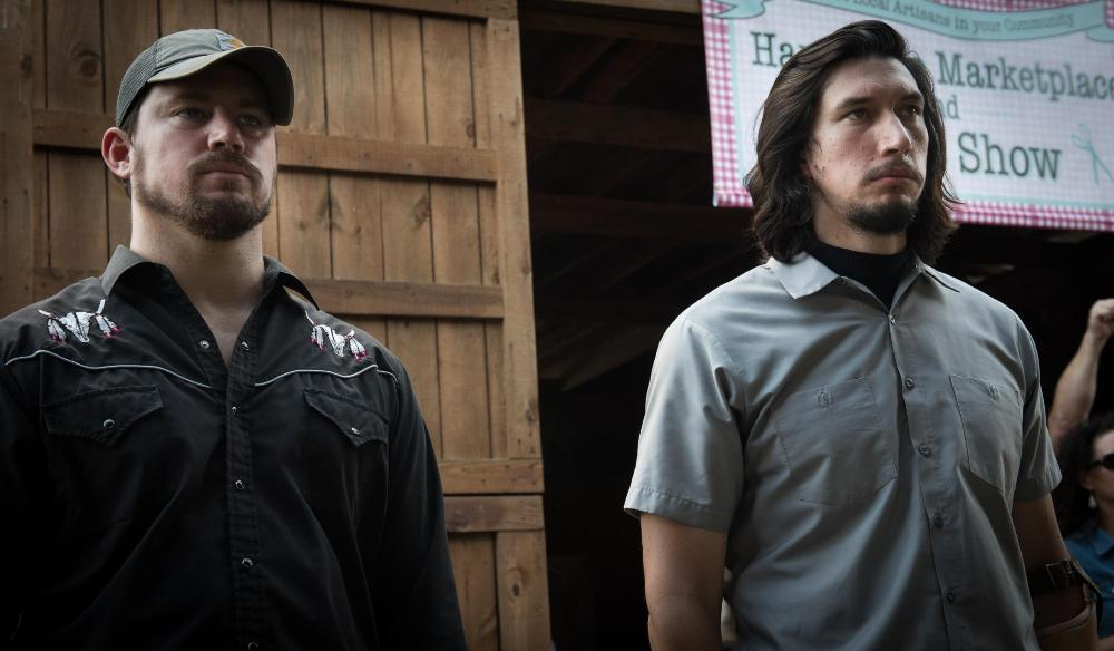 logan lucky brothers channing tatum and adam driver