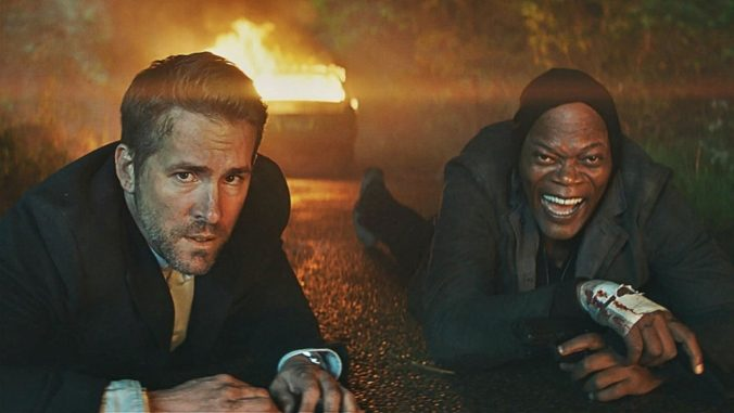 still from The Hitman's Bodyguard movie