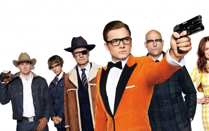 Kingsman The Golden Circle Movie Wallpaper