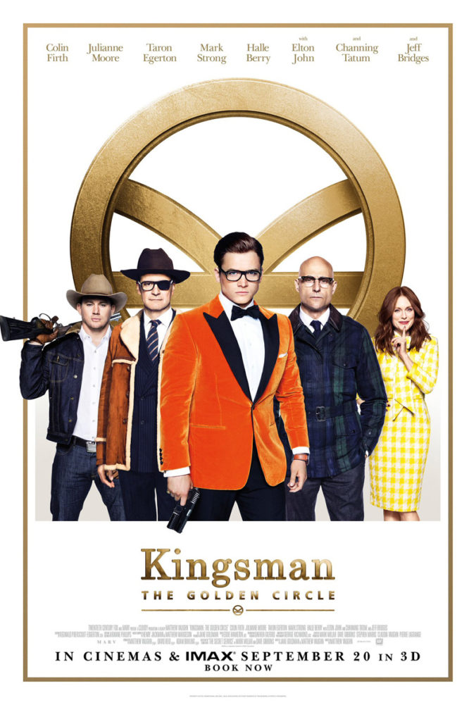 Kingsman The Golden Circle Movie Poster
