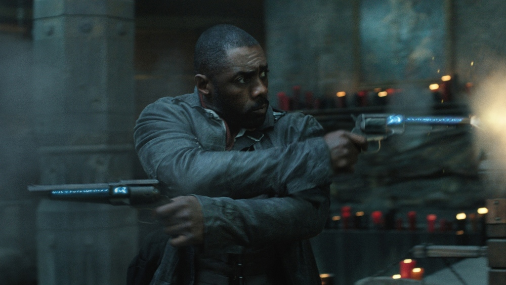 the dark tower idris elba fighting