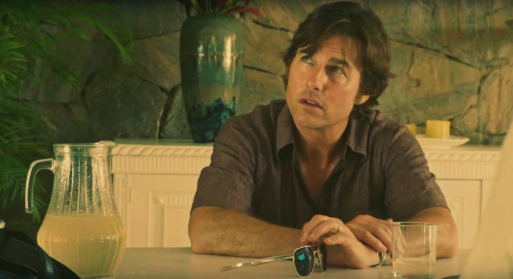American Made movie still of Tom Cruise as Barry Seal