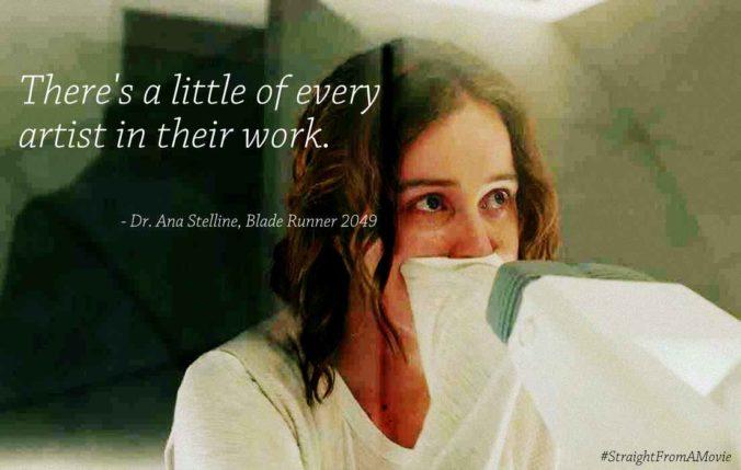 Dr. Ana Stelline Memory Creator in Blade Runner 2049