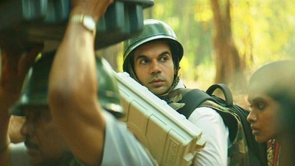 Rajkummar Rao as Newton in Newton movie
