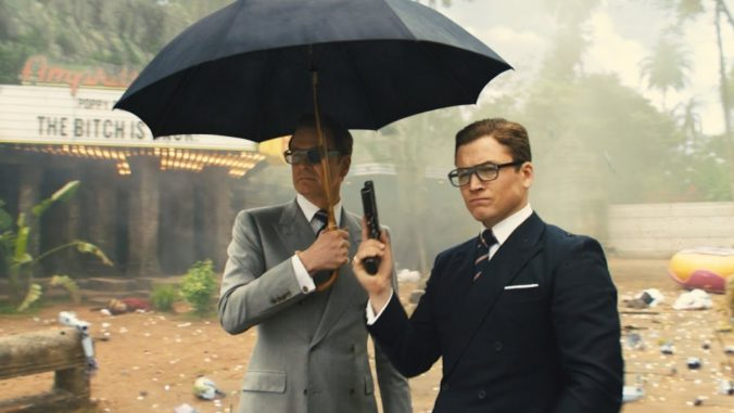 Kingsman The Golden Circle Harry and Eggsy
