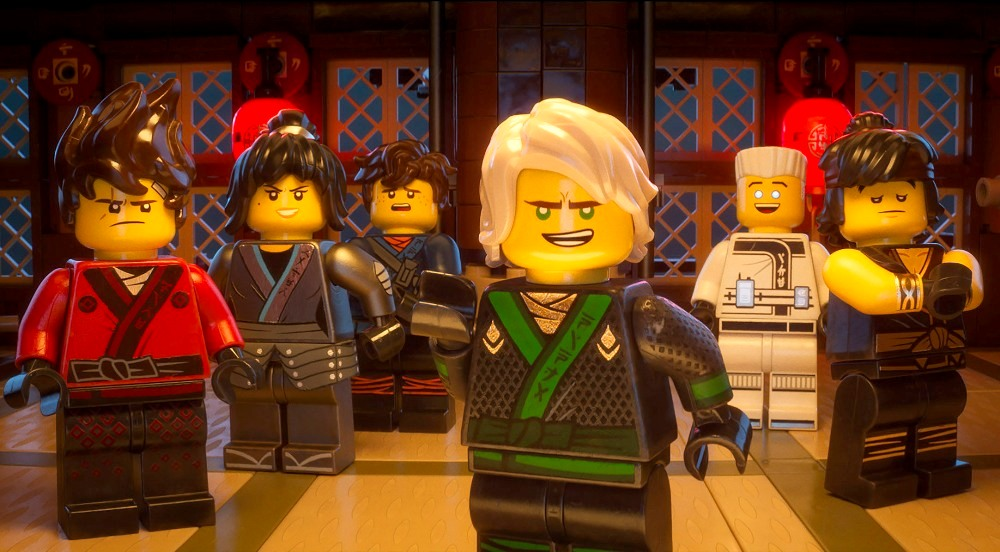 The Lego Ninjago Movie Gang