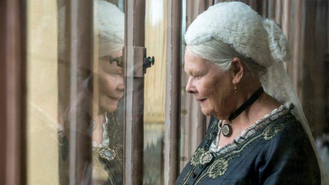 Judi Dench as Victoria in Victoria and Abdul Movie