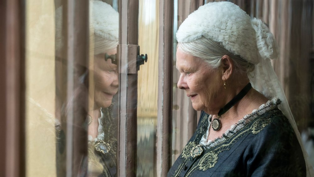 Judi Dench as Victoria in Victoria and Abdul Movie