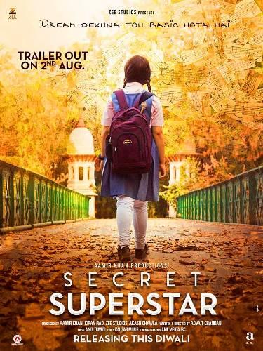 secret superstar movie poster