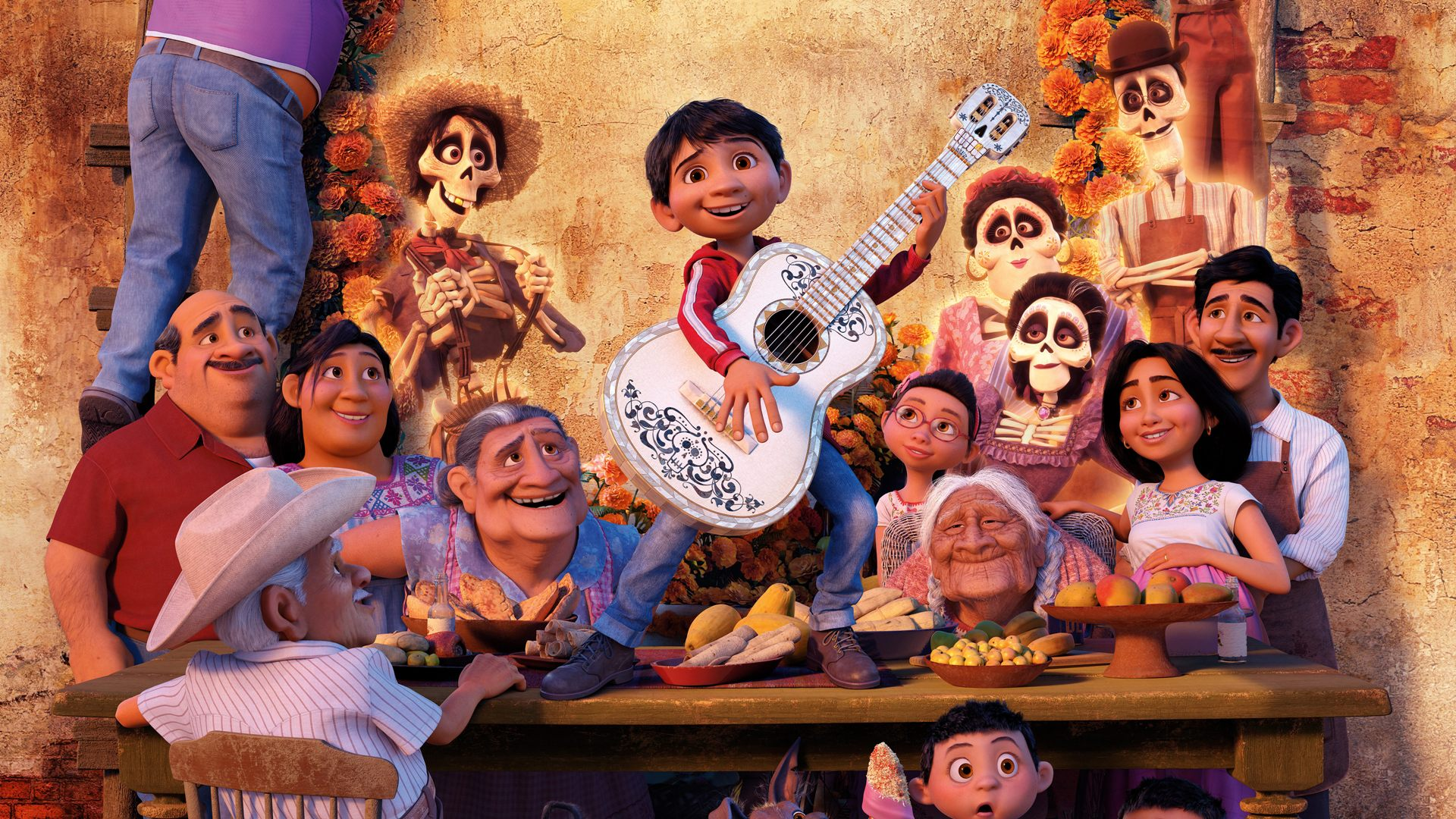 all characters from coco movie