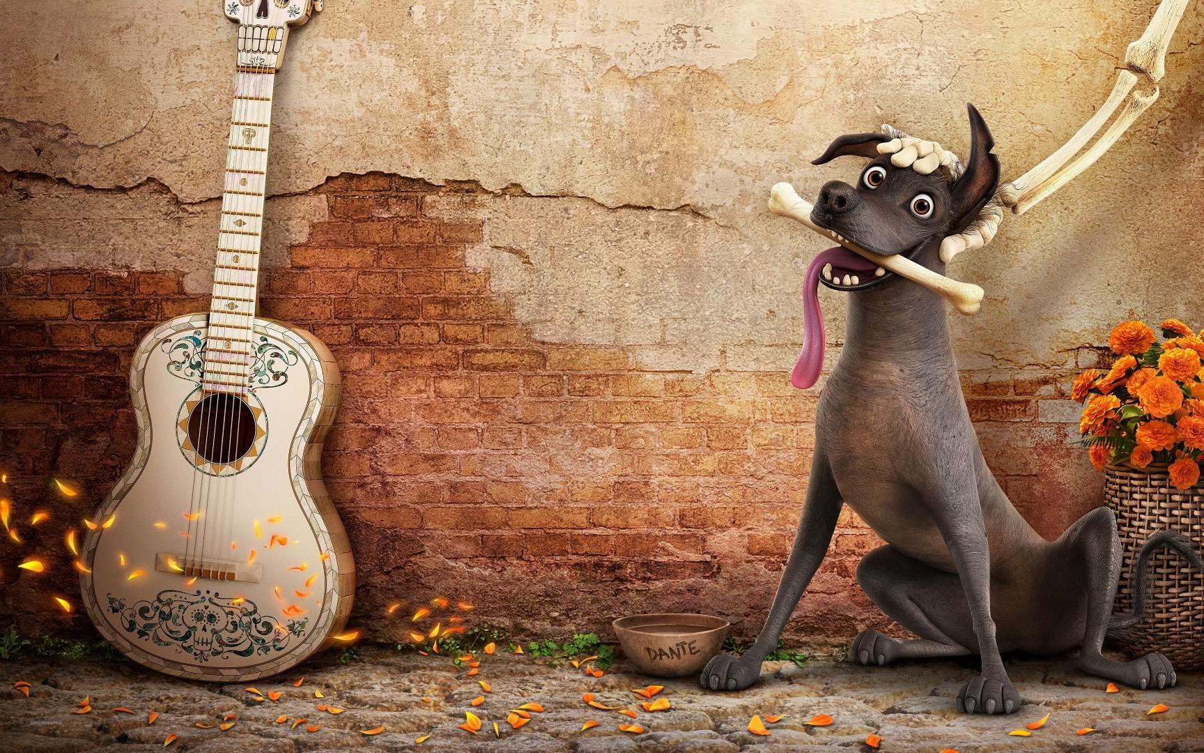Coco movie xolo dog Dante