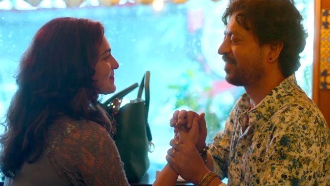 Irrfan and Parvathy in Qarib Qarib Singlle Movie