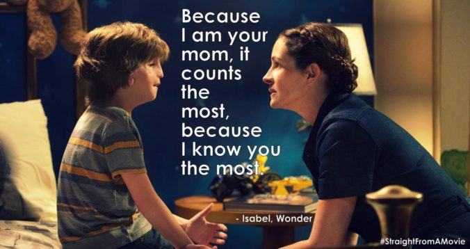 Wonder movie Quotes