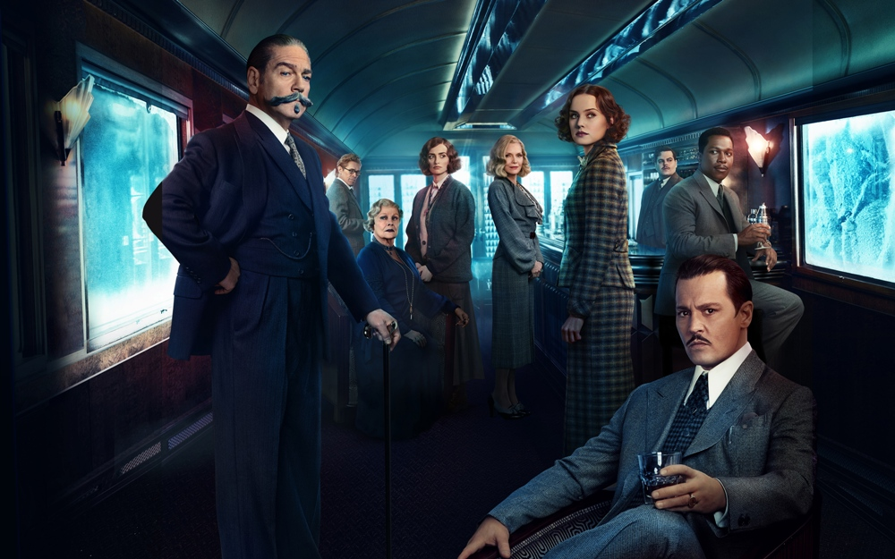 murder on the orient express movie wallpaper