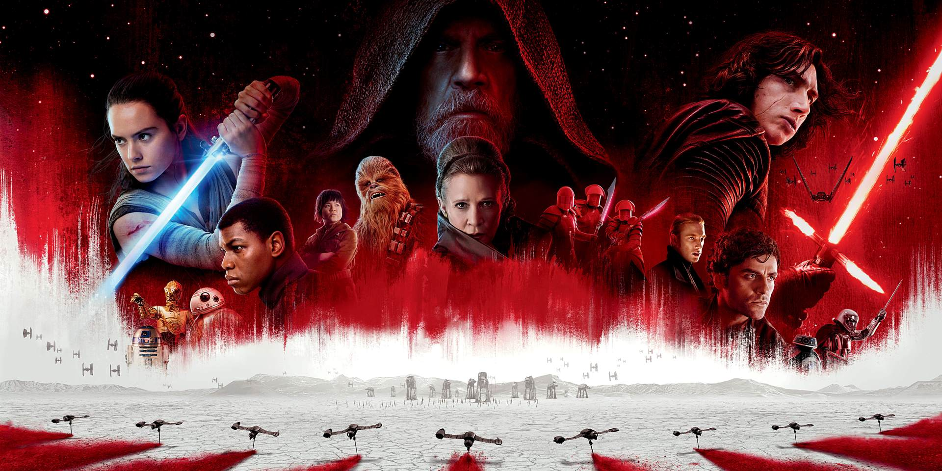 star wars the last jedi movie wallpaper