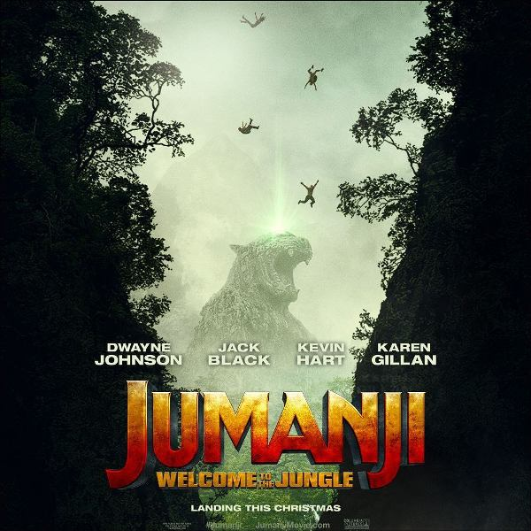 Jumanji reboot movie poster