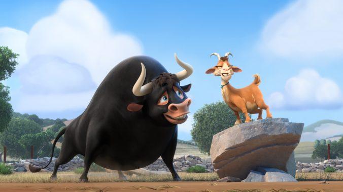 Ferdinand and Lupe in Ferdinand movie