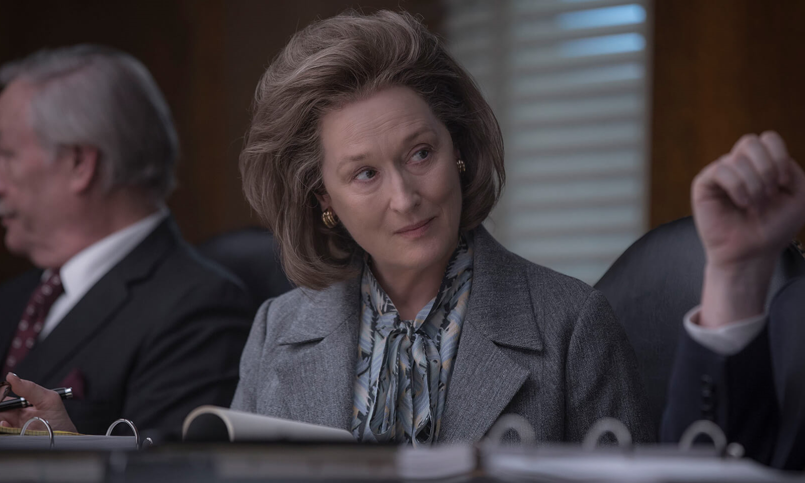 Meryl Streep in The Post movie