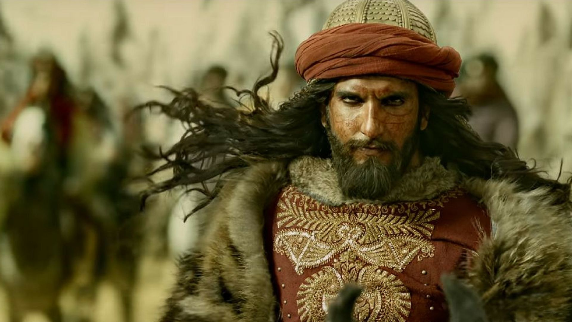 Ranveer Singh as Khilji in Padmaavat