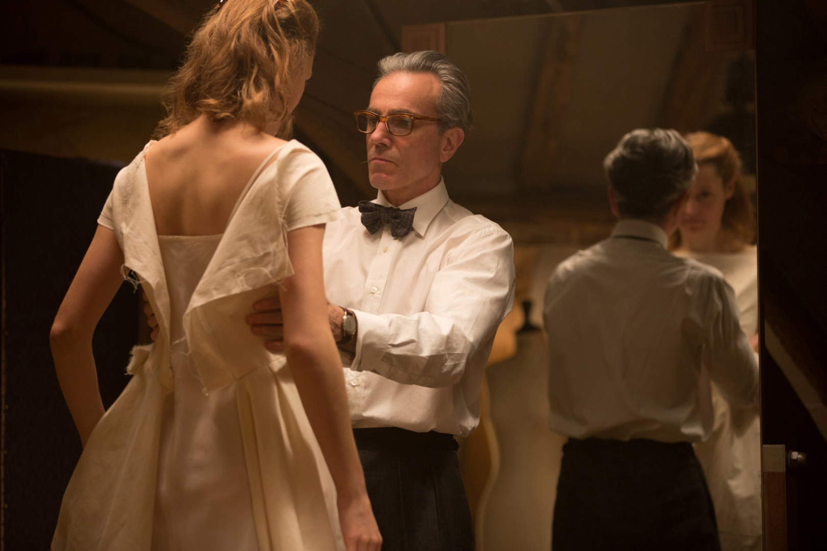 Daniel Day-Lewis in Phantom Thread movie