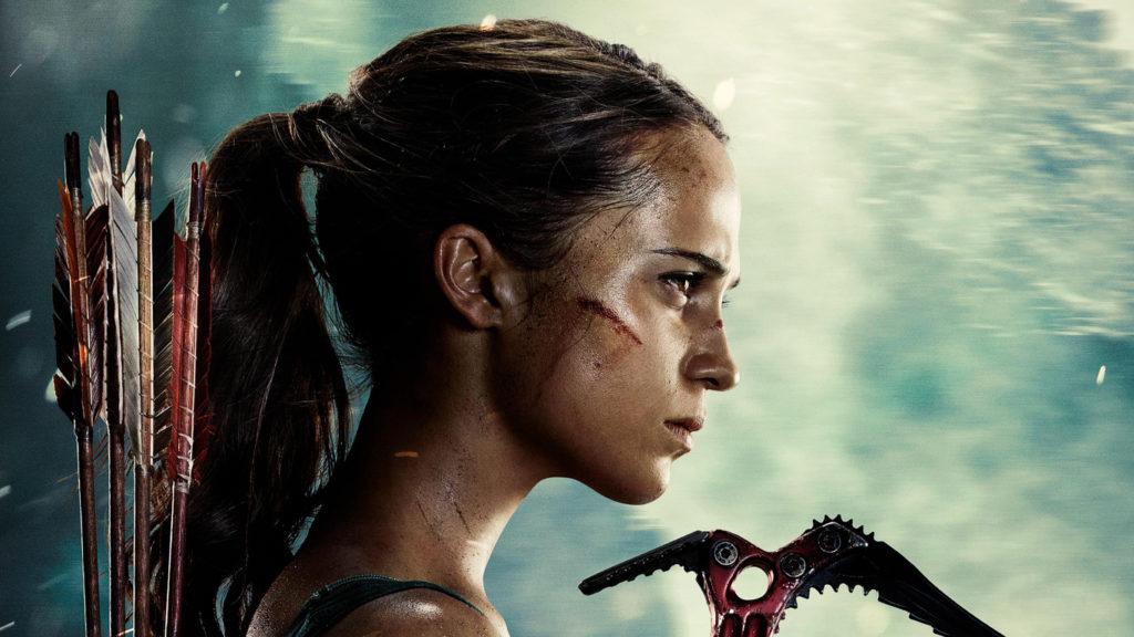 tomb raider 2018 movie wallpaper