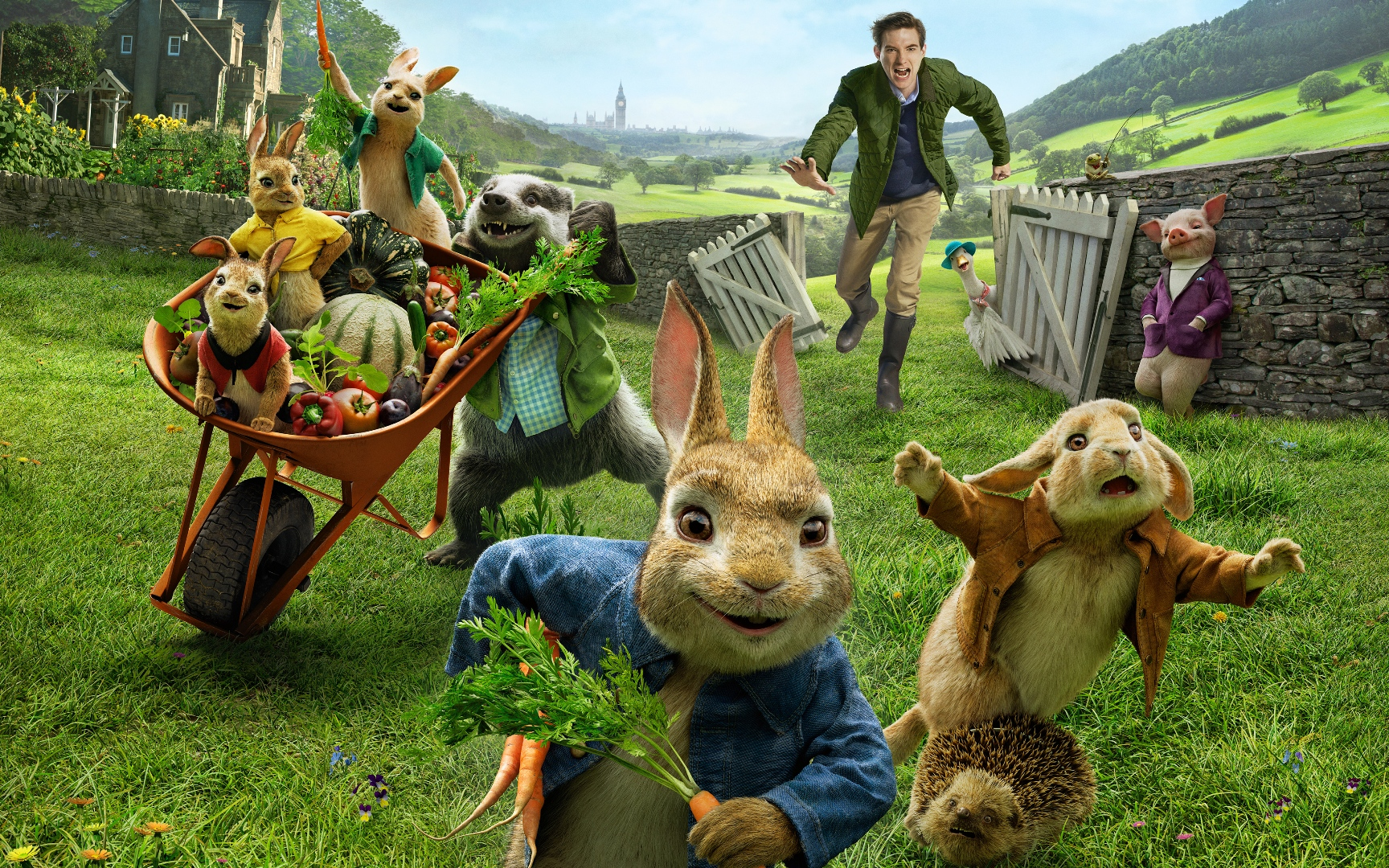 Peter Rabbit movie wallpaper