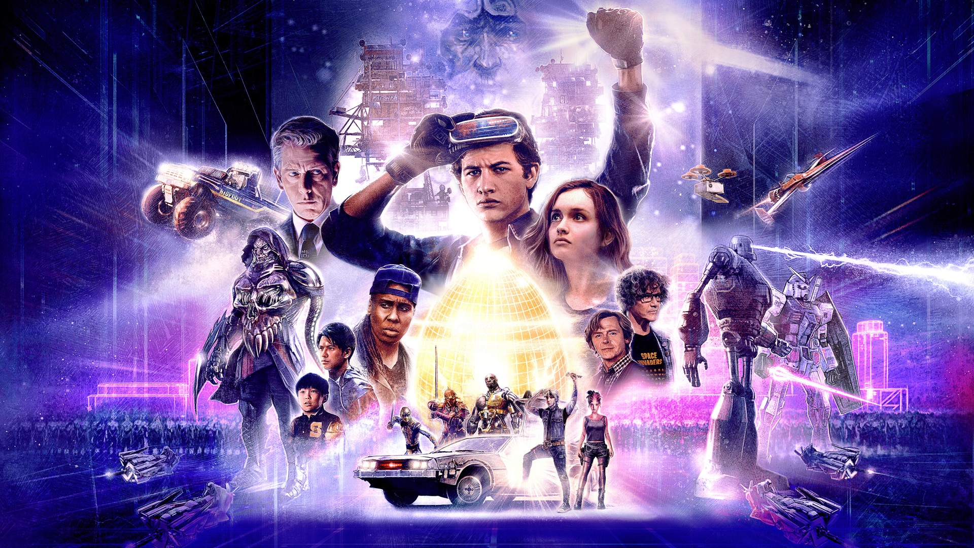 ready player one movie wallpaper