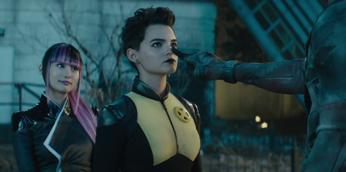 deadpool 2 negasonic warhead and Yukio