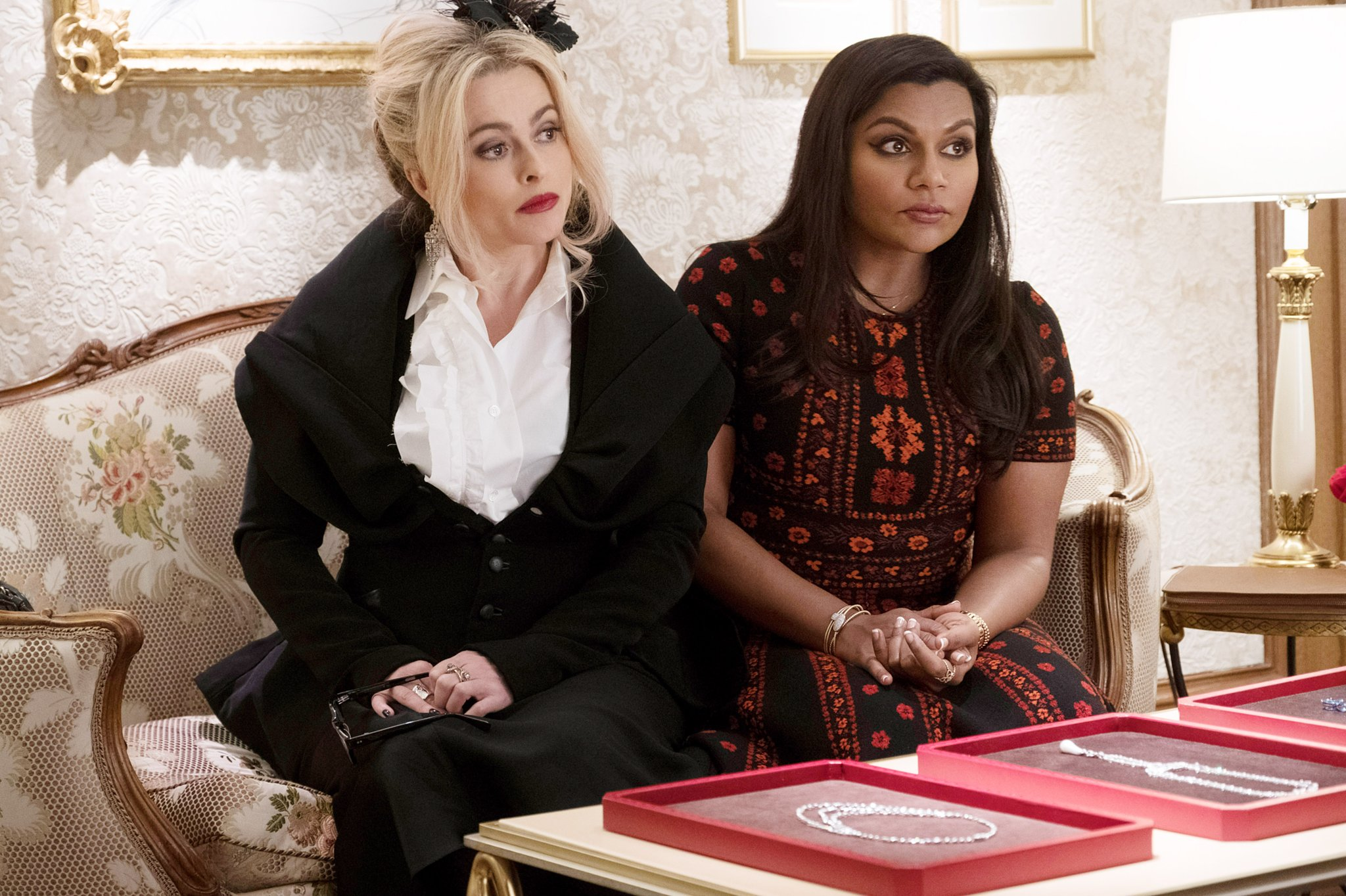 Helena Bonham Carter and Mindy Kaling in Ocean's Eight Movie