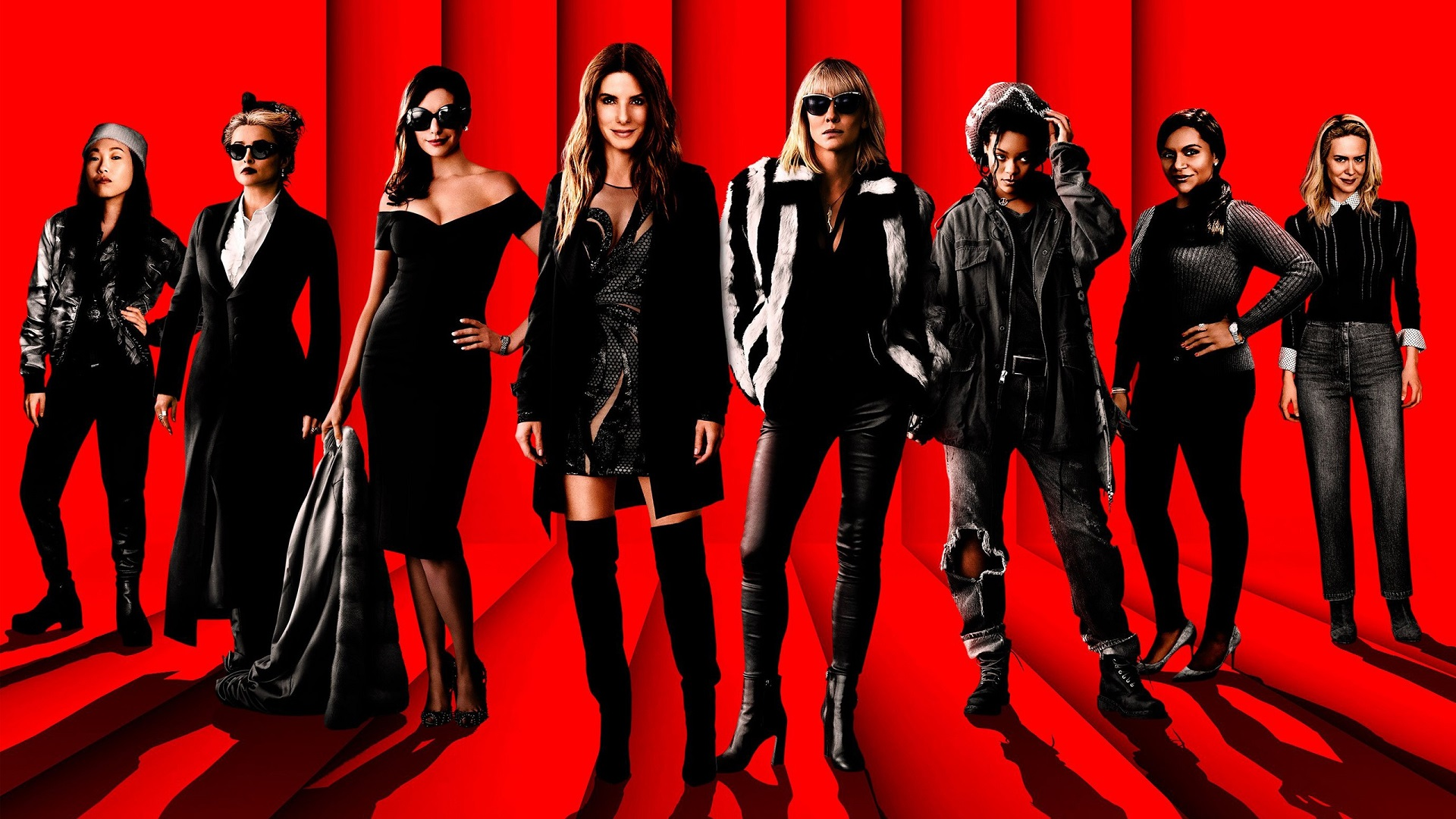 oceans 8 movie wallpaper