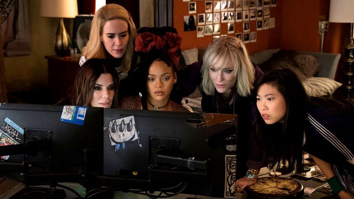 ocean's eight movie gang five members