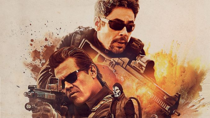 sicario day of the soldado movie wallpaper