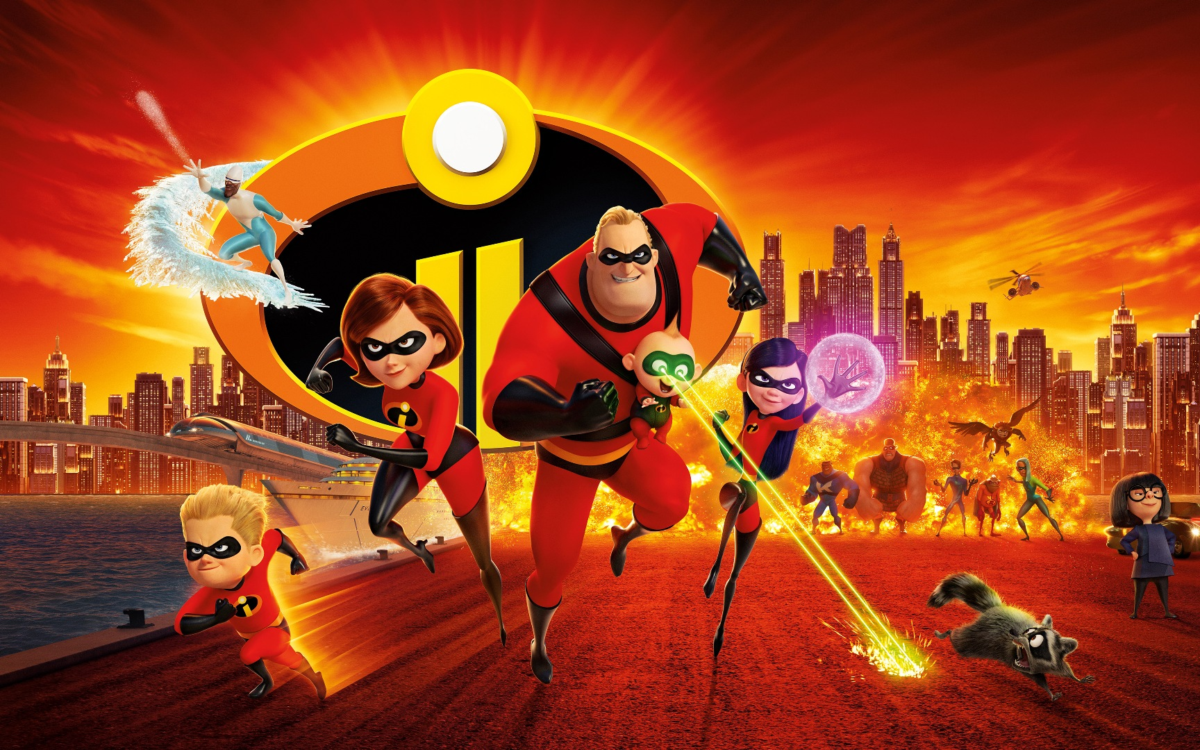 incredibles 2 movie wallpaper