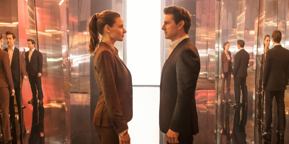Mission Impossible Fallout Ilsa and Ethan