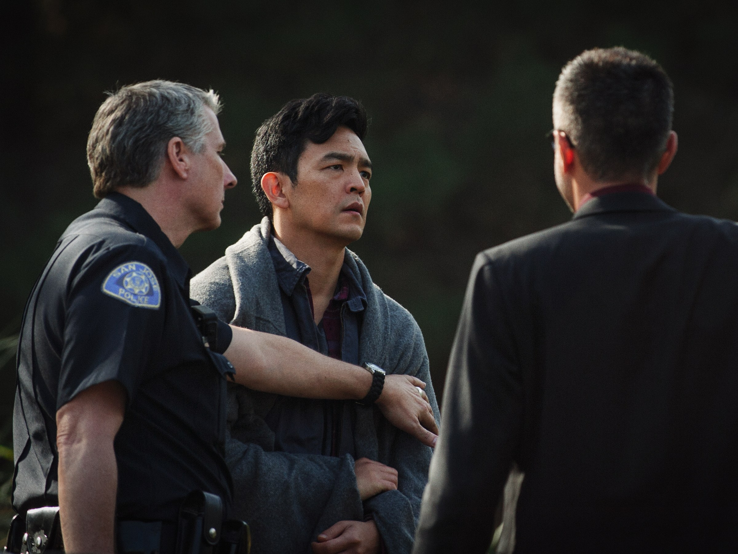 still of John Cho in Searching movie