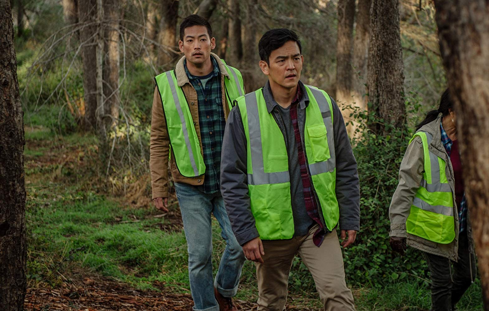John Cho and Joseph Lee brothers in Searching movie